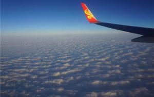 【江南图片】【非游记】云上的风光——2017.1.25长沙至宁波飞行所见