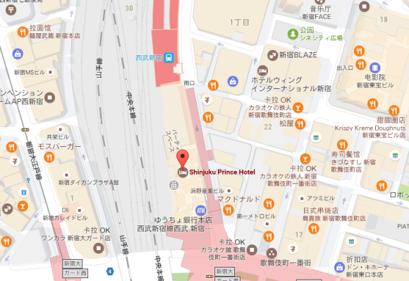 東京都新宿区歌舞伎町2丁目の地図 住所一覧検索| …