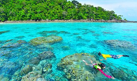【绝美双岛游】泰国普吉 斯米兰群岛 达差岛苏林岛 两