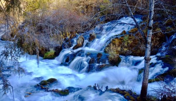 100张图片告诉你冬天的九寨沟有多美丽(超详