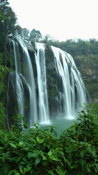 黄果树瀑布 游记   黄果树国家重点风景名胜区位于贵州省西南部