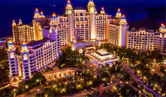 珠海长隆横琴湾酒店(含住宿,双人自助晚餐,海洋王国门票,赠送水世界)