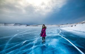 【贝加尔湖图片】贝加尔湖の用尽洪荒之力感受冷风吹