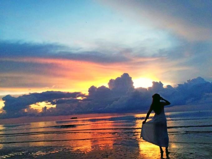 奔跑在富国岛phu quoc island