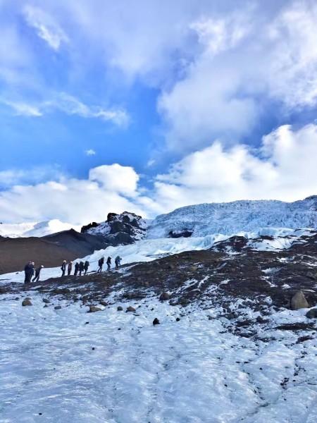 冰岛风景高清图片竖版