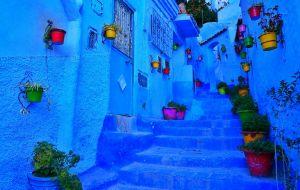 【摩洛哥图片】有种蓝,叫舍夫沙万