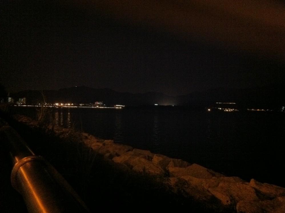 干活前最后一贴-壁球场+海滨长廊夜景