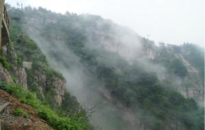 【涞源图片】2013图记--雾锁白石山