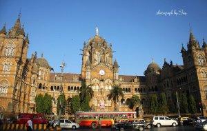 【孟买图片】今日依旧辉煌的孟买维多利亚火车站