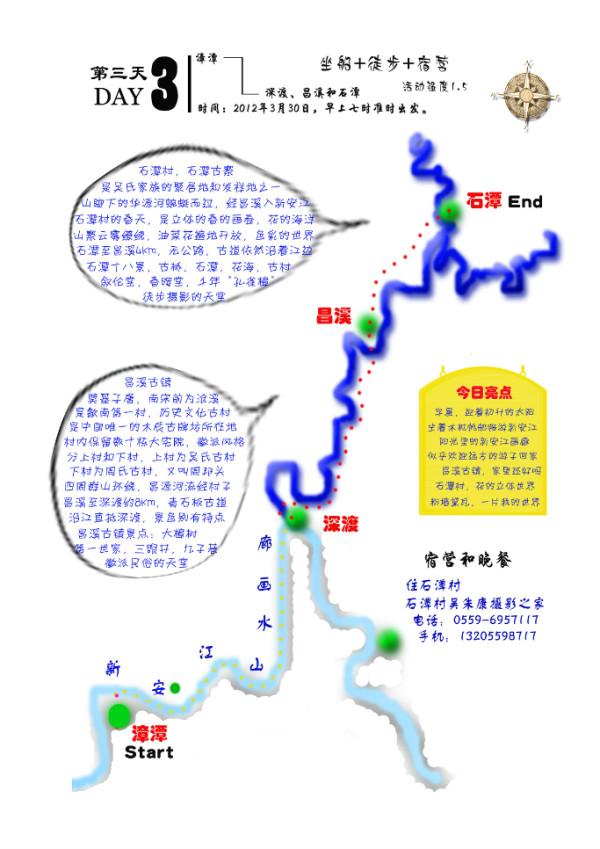 简易旅行路线图手绘