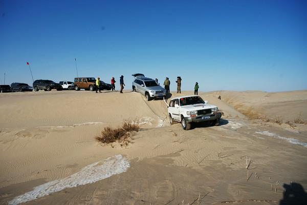 科尔沁 库伦旗 沙漠穿越