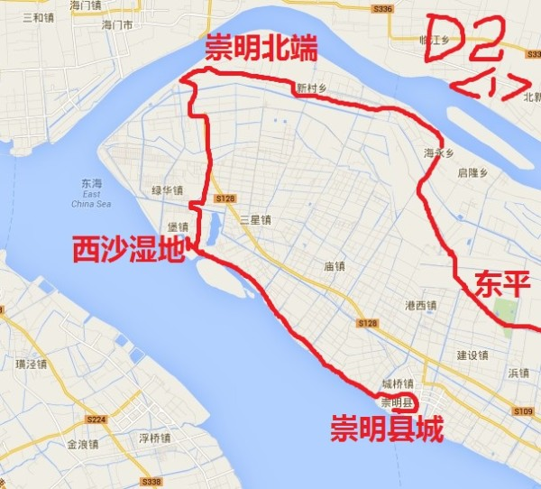 单车环崇明岛(中国第三大岛)-----【复学后旅行系列】