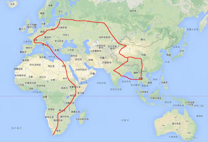 骑摩托载爱人去非洲追逐野生动物大迁徙