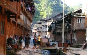 【黔东南图片】寨前村后尽是红豆杉——银潭侗寨
