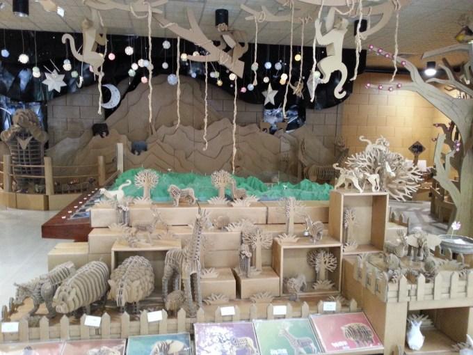 纸箱动物馆