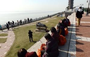【海宁图片】【乾隆皇帝四度到访的古镇】暖冬的海宁盐官大潮之旅