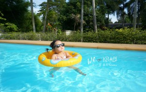 【兰达岛图片】带着Baby去旅行 2周岁庆生 -  窝在别墅泡泳池 泰国 甲米