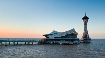 更有大桥展示馆带您穿越时空了解杭州湾跨海大桥这座世界上单体最长的
