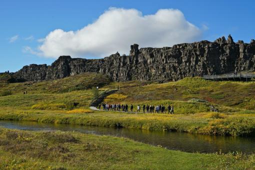 【南部休闲之旅】冰岛经典6日游(辛格维利尔国家公园