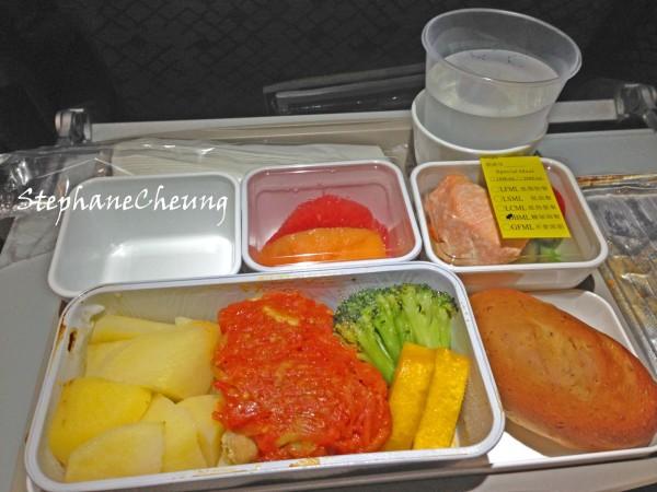 国泰航空的飞机餐