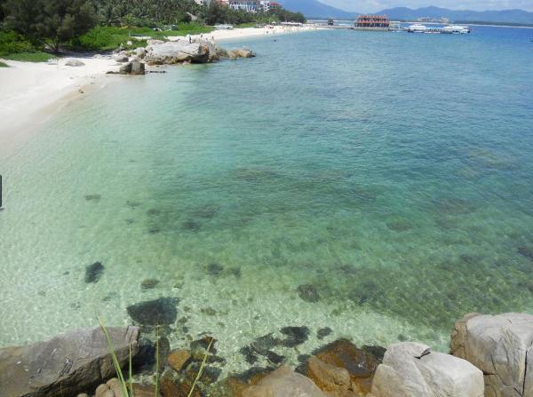 海岛乡礁石分布图