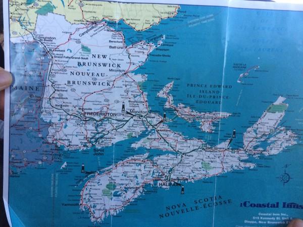 加拿大 游记   路线: 蒙特利尔-加斯佩半岛-爱德华王子岛省-新斯科舍