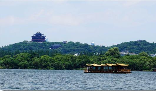 """【船游西湖】上海出发 杭州西湖1日游(船游西湖,体验""""图片"""
