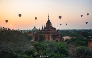 【蒲甘图片】佛国缅甸,一佛一世界,万千佛塔赤足印迹