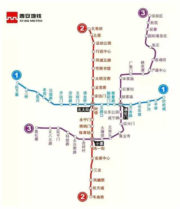 最新2016西安地铁线路图,2016西安地铁线路图最新版图片