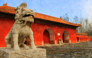 【易县图片】彼岸的叹息——正定寺塔 河北省博物院 清西陵