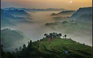 【内江图片】云雾仙山——骑龙坳