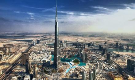 迪拜哈利法塔免费图片