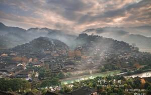 【黎平图片】冬季到贵州来看雨,走一步算一步去寻找传奇的旅程