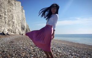 【布莱顿图片】四月的春天 美丽的海与Brighton