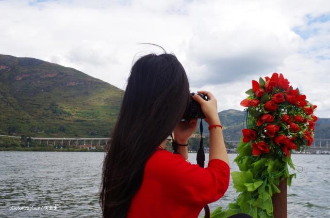 大理洱海拍照姿势
