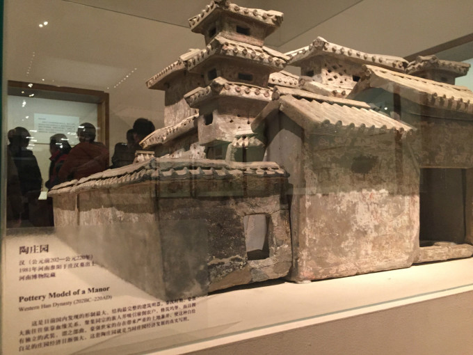 中国汉代建筑柱体结构