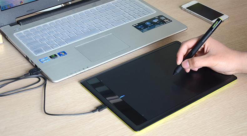 商品名称:手绘板(wacom 数位板 ctl671 手绘板 bamboo学习板绘图板