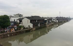 【塘栖图片】运河※古镇※[Mid-Autumn Festival]雨中两个人的塘栖