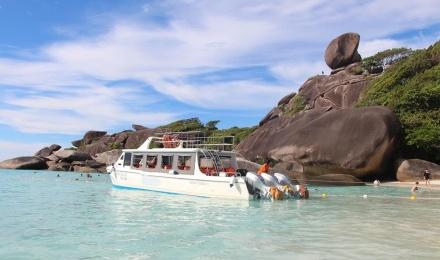 泰国普吉岛斯米兰岛similan一日游