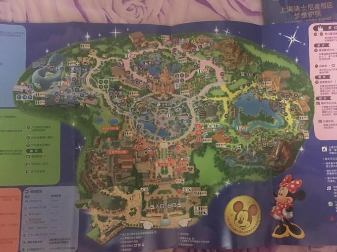 梦想护照盖章攻略 上海迪士尼一日游图片