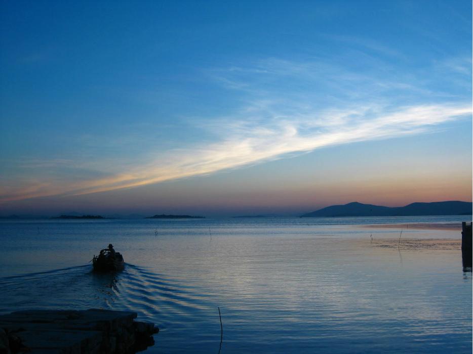 来自苏州三山岛的新鲜氧气