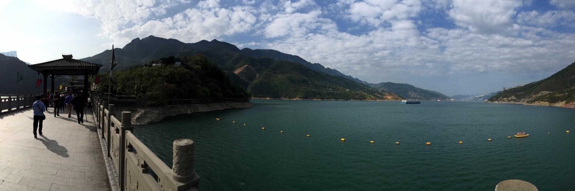 yangtze river cruise BaiDiCheng Panoramas