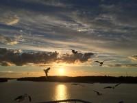 绝美波罗的海晚霞、日出