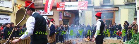 2016西班牙加泰罗尼亚烤大葱节Calçotada